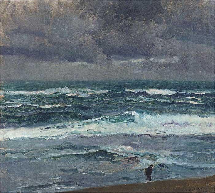 Joaquin Sorolla, Seascape, 1904