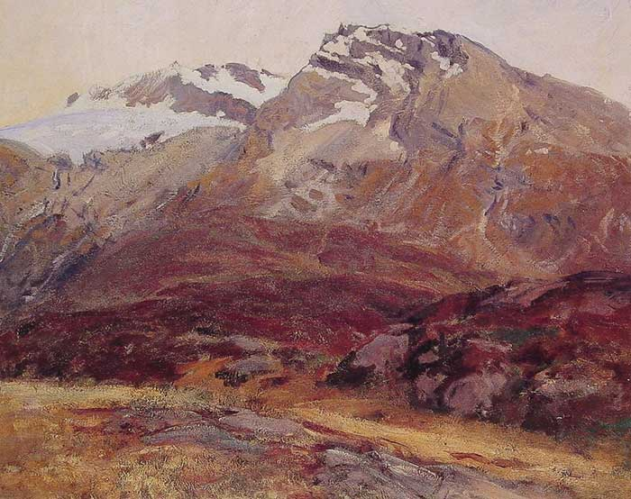 John Singer Sargent, Coming Down From Mont Blanc, 1909-1911