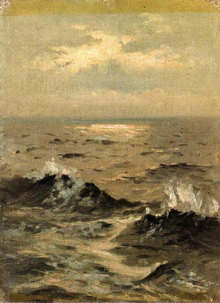 John Singer Sargent, Seascape, 1875