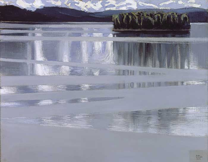 Lake Keitele, Akseli Gallen-Kallela, 1905