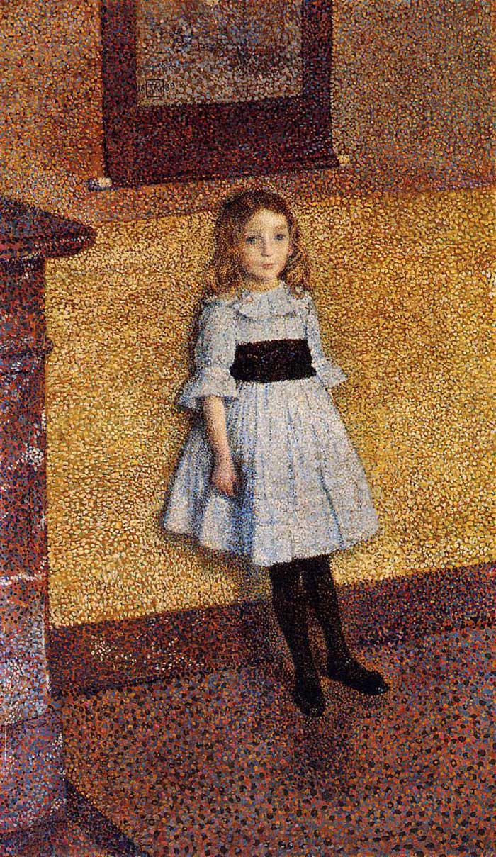 Theo van Rysselberghe, Little Denise, 1889