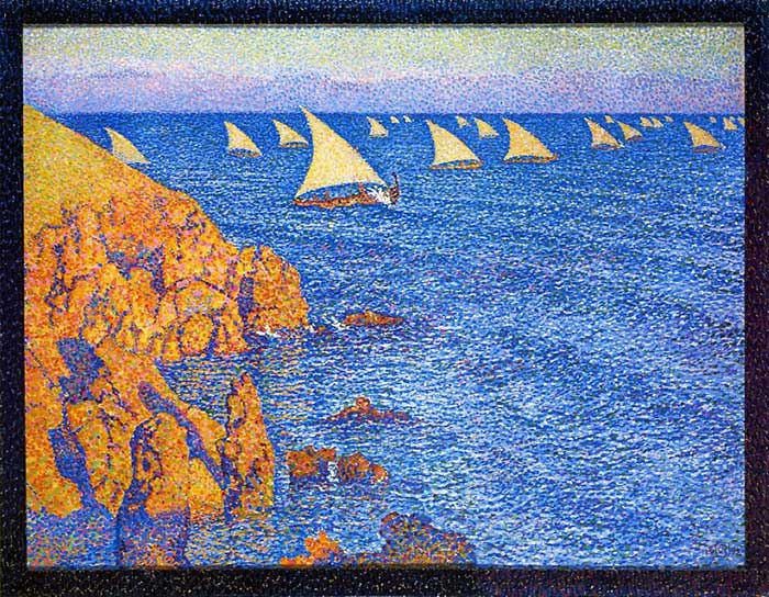 Theo van Rysselberghe, The Regata, 1892