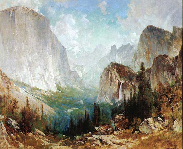 Thomas Hill, After The Storm, Yosemite Valley, 1888