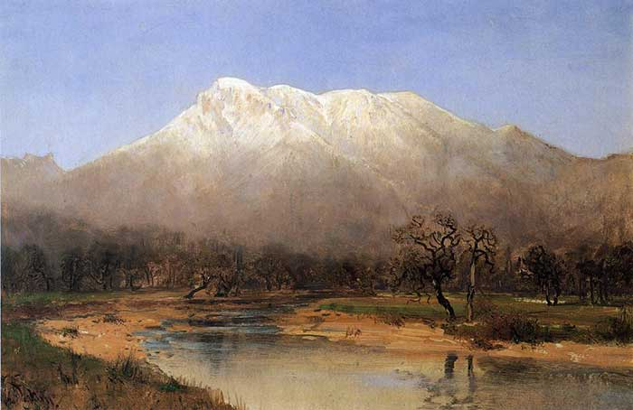 Thomas Hill, Mount St. Helena, Napa Valley
