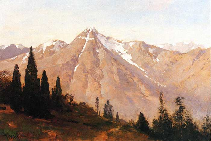 Thomas Hill, Mountain Of The Holy Cross