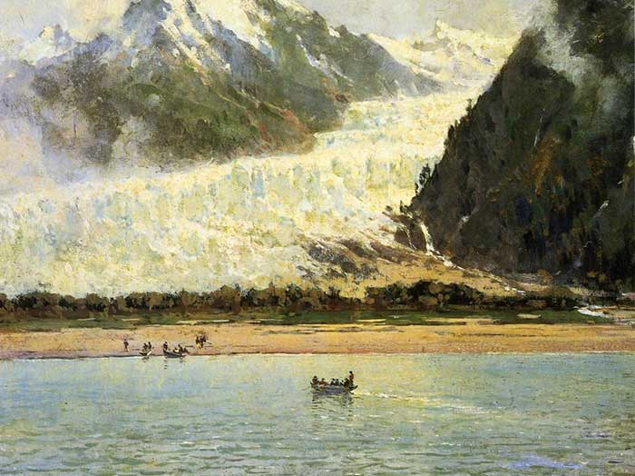 Thomas Hill, The Davidson Glacier, 1888