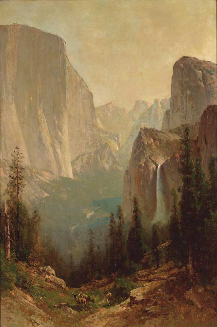 Thomas Hill, Yosemite Valley, 1884