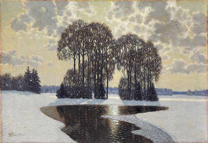 Vilhelms Purvitis, Winter, 1910