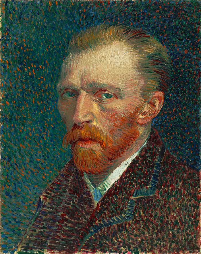 Vincent van Gogh, Self Portrait, 1887