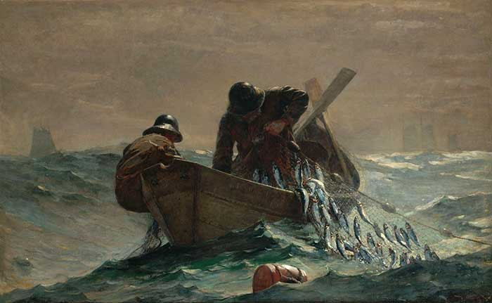 Winslow Homer, The Herring Net, 1885