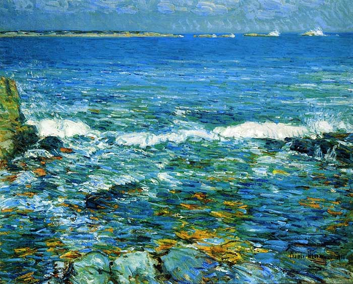 Childe Hassam, Duck Island de Appledore, 1911