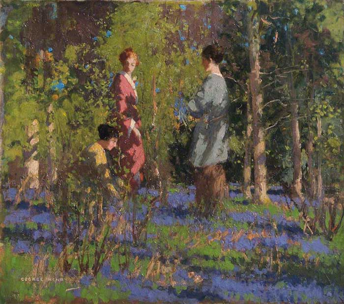 George Henry, Picking Bluebells