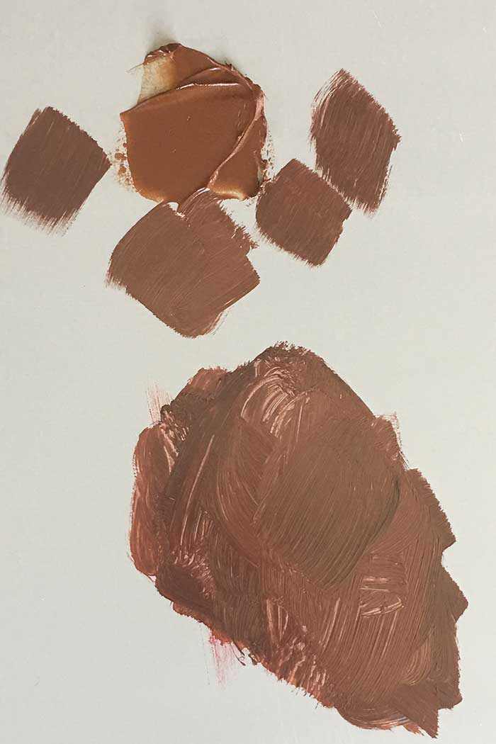 How To Mix Earth Tones - Burnt Sienna