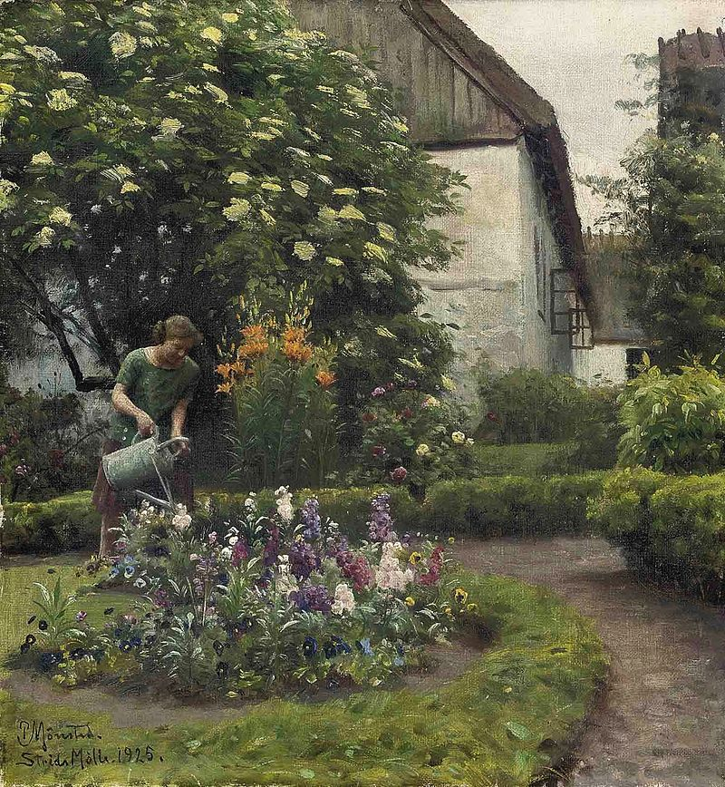 Peter Mork Monsted, Watering The Garden