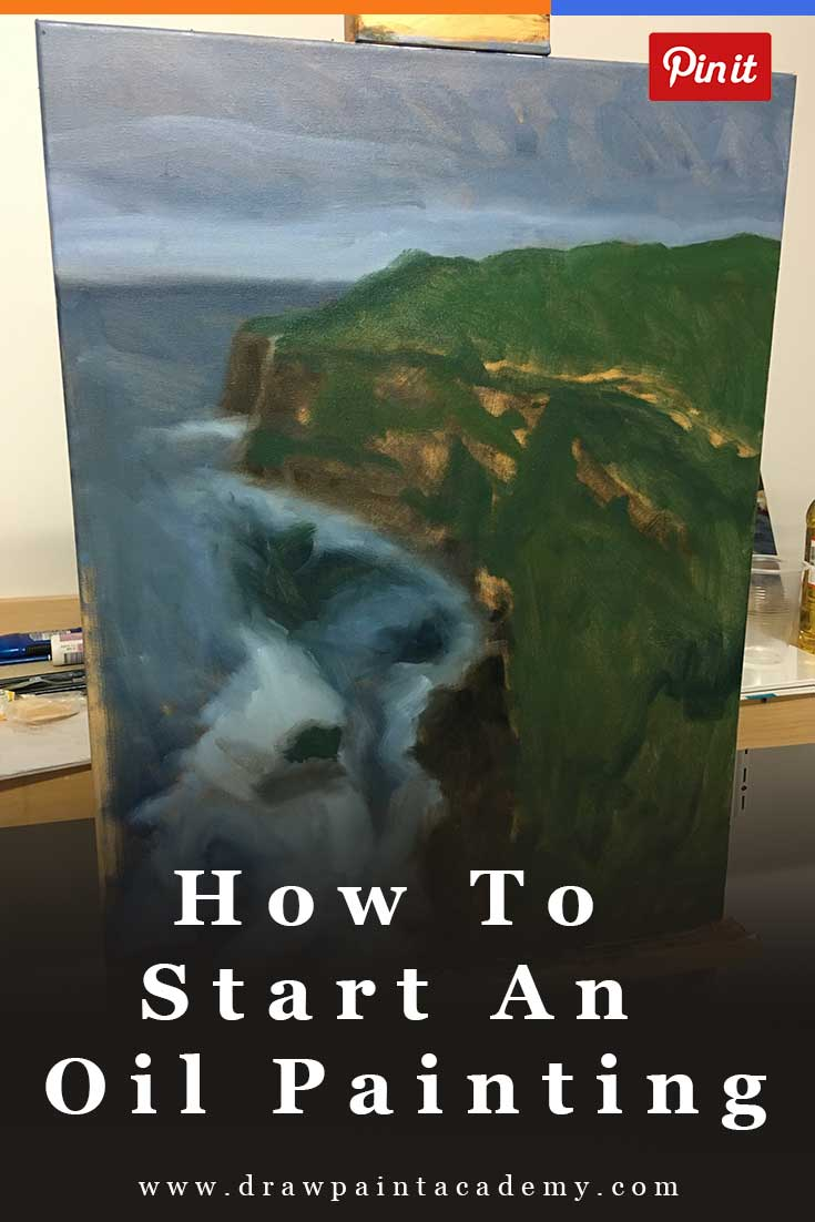 How To Start An Oil Painting