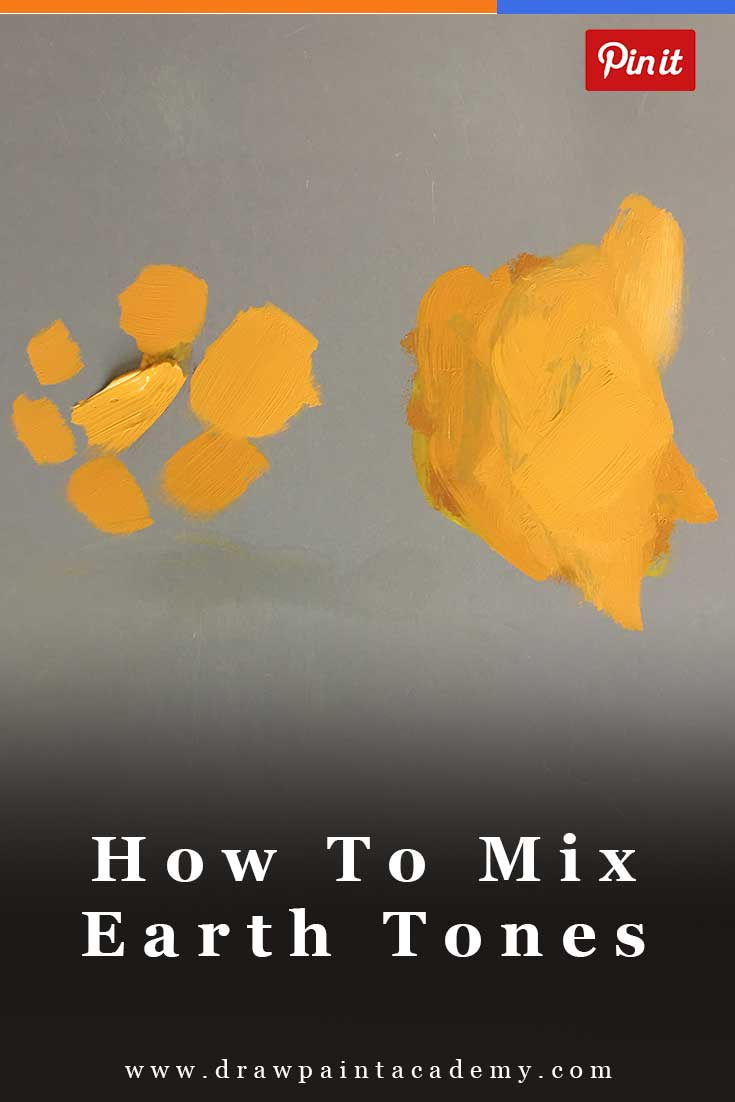 How To Mix Your Own Earth Tones | Color Theory | Painting Tips For Beginners | Color Mixing | Color Palette | #drawpaintacademy #color