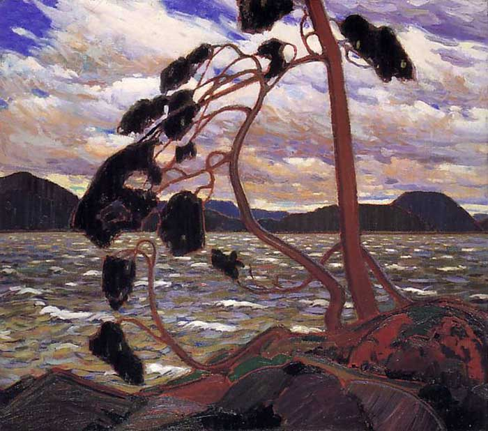 Tom Thomson, The West Wind, 1917