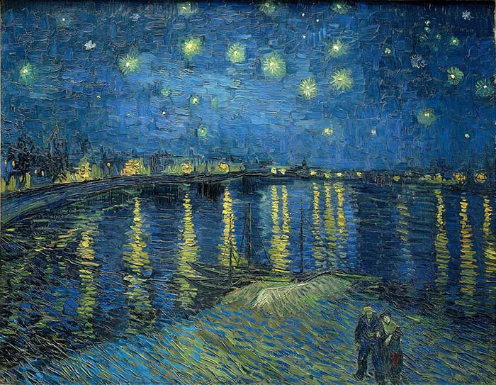 Vincent van Gogh, Starry Night Over The Rhone, 1888