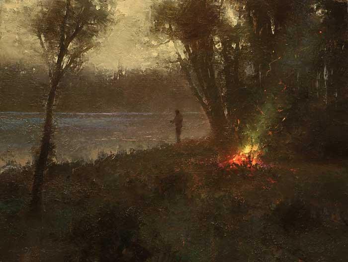 Brent Cotton, Evening Fire