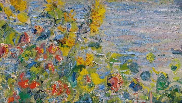 Claude Monet Close Up