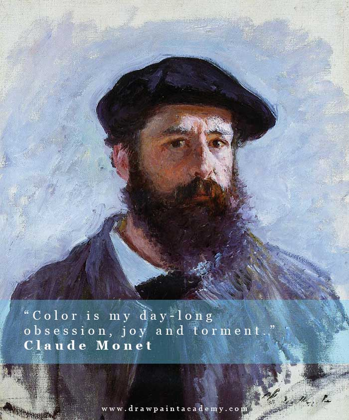 Claude Monet - Inspirational Color Quotes