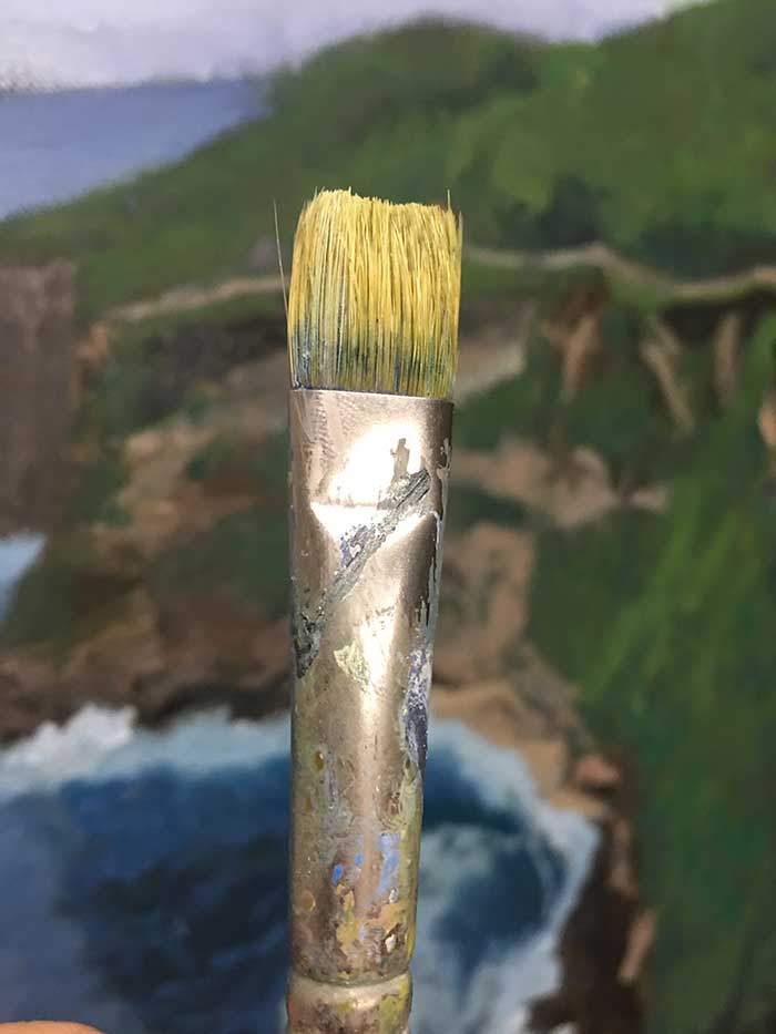 Bright Artist Brush