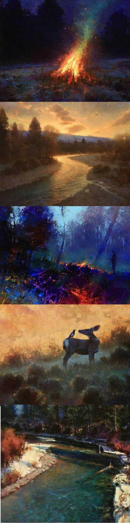 Artist Spotlight - Brent Cotton | Landscape Painting | Art Ideas | Landscape Ideas | Painting Ideas | Art Inspiration