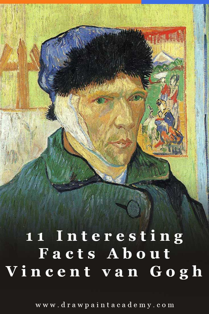11 Interesting Facts About Vincent van Gogh | Impressionism | Art History #vincentvangogh
