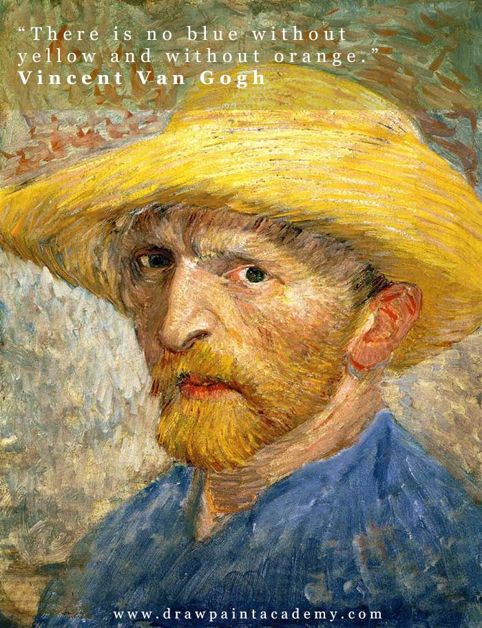 Vincent van Gogh - Inspirational Color Quotes