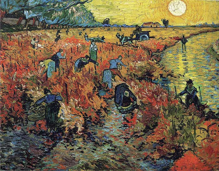 Vincent van Gogh, Red Vineyard, 1888