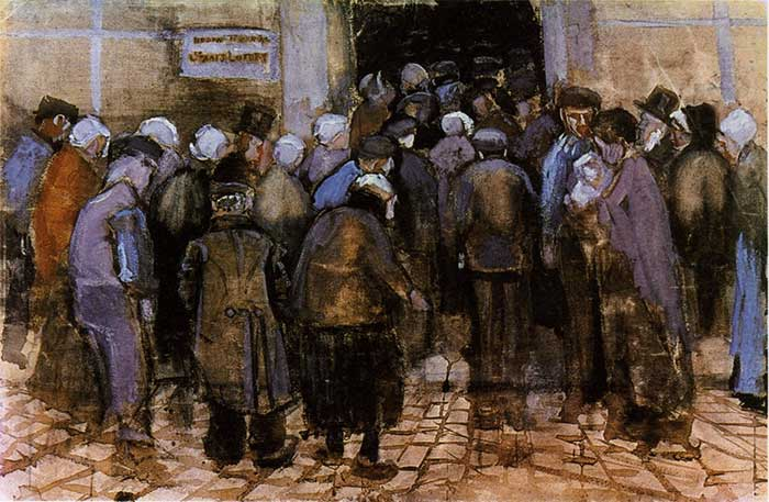 Vincent van Gogh, The Poor and Money, 1882