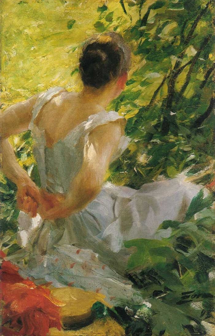 Anders Zorn, In The Woods, 1893