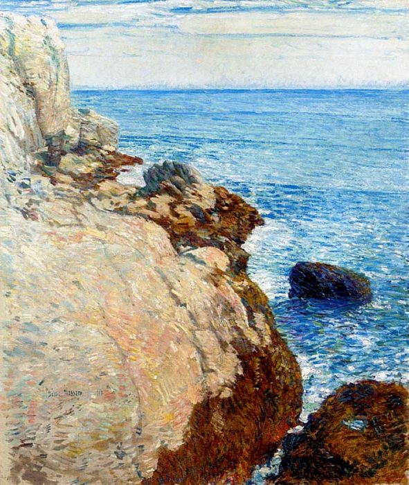 Childe Hassam, The East Headland, Appledore - Isles Of Shoals, 1908