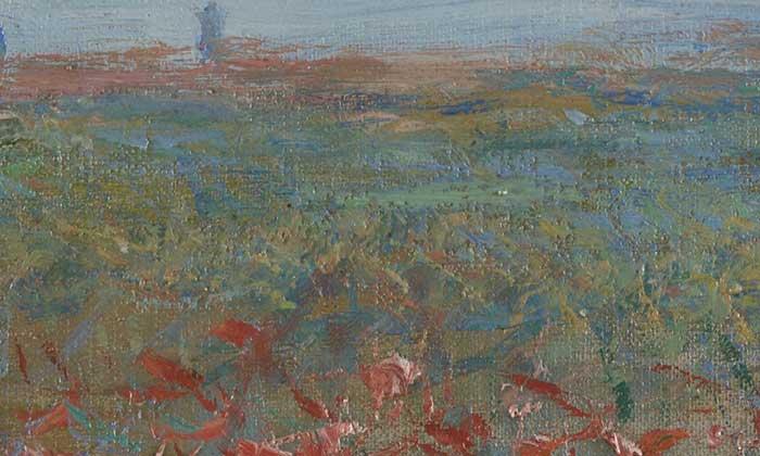 Claude Monet, Champ de coquelicots, 1881 Up Close 2