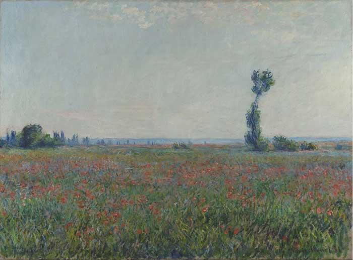 Claude Monet, Champ de coquelicots, 1881