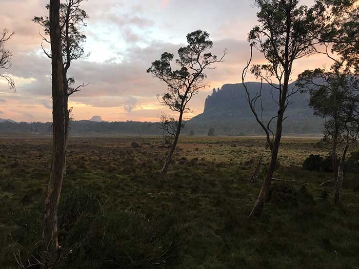 Sunset In Tasmania - Plein Air Painting Tips