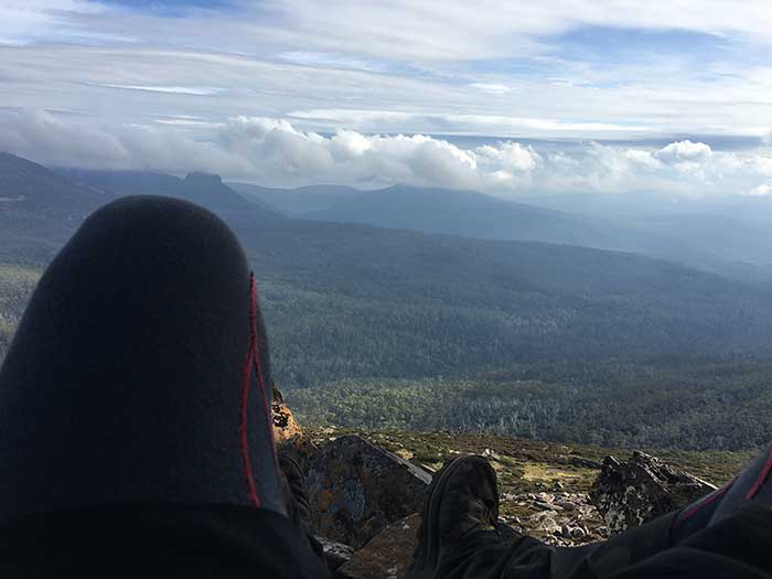 Overland Track - Lookout