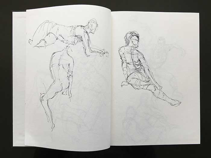 Gesture Drawing - Quick Poses 1