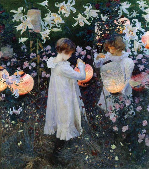 John Singer Sargent, Carnation, Lily, Lily, Rose, 1885-1886