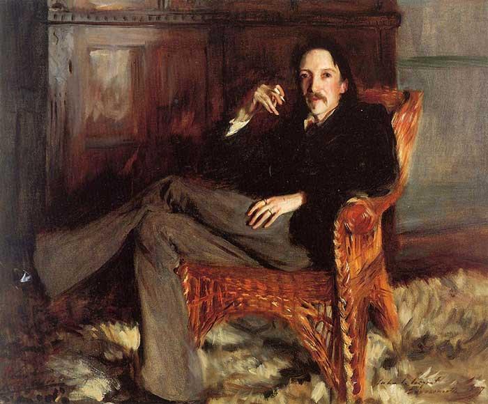 John Singer Sargent, Robert Louis Stevenson, 1887