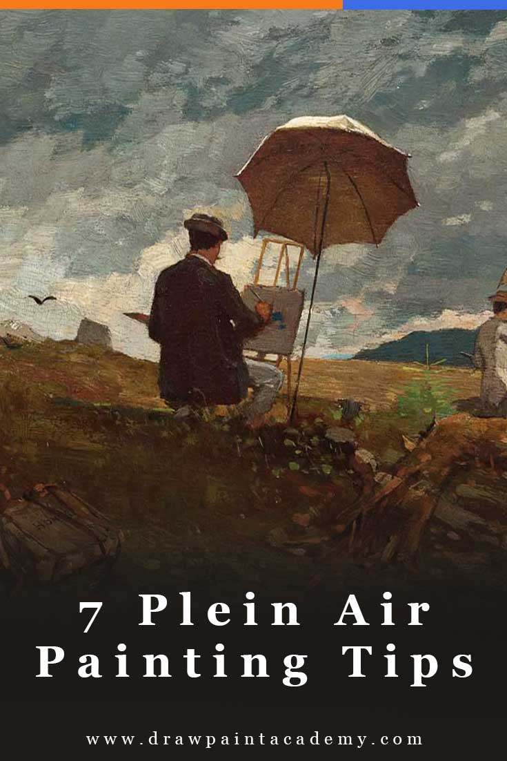 7 Plein Air Painting Tips For Beginners | Outdoor Painting | Oil Painting For Beginners
