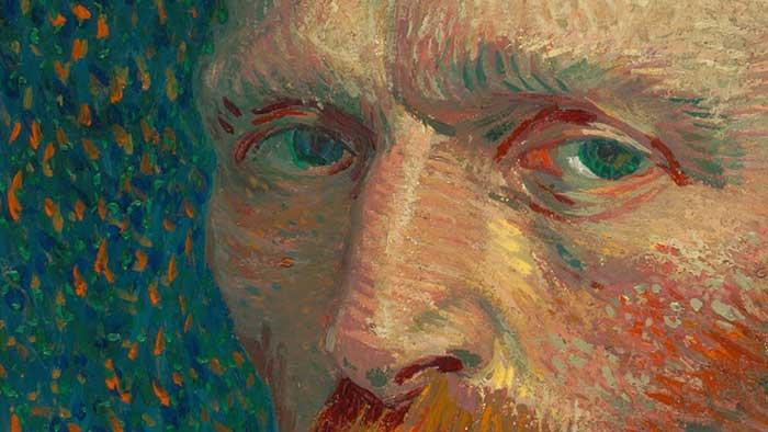 Vincent van Gogh, Self-Portrait, 1887, Up Close 1