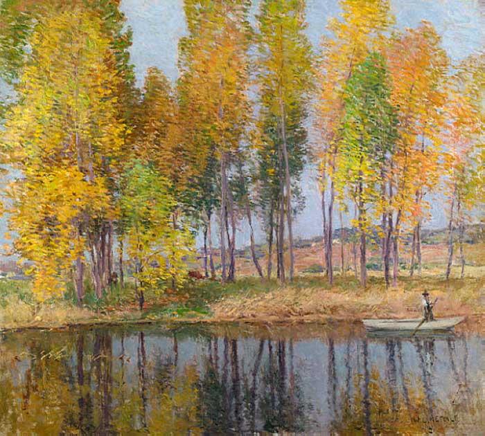 Willard Metcalf, Autumn Festival, 1915