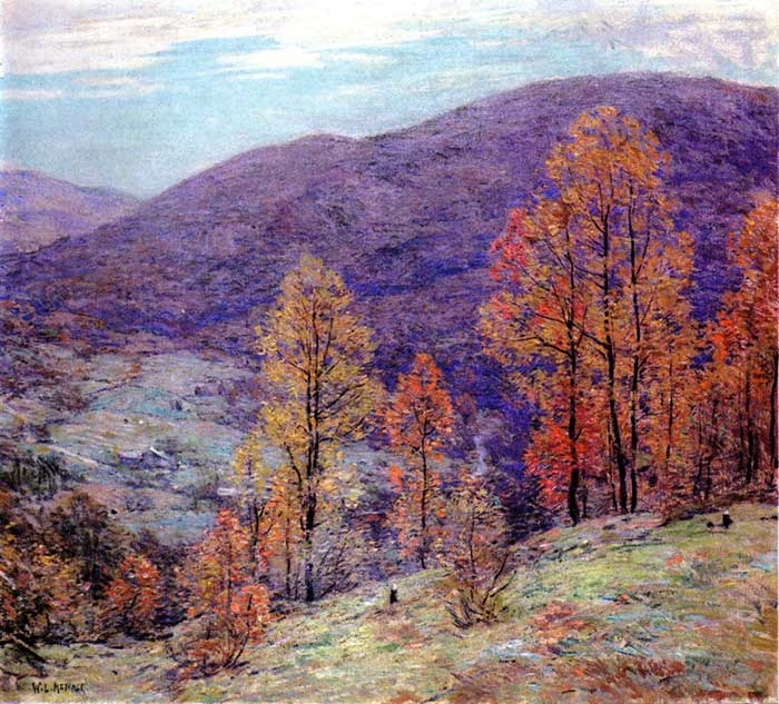 Willard Metcalf, Autumn Glory