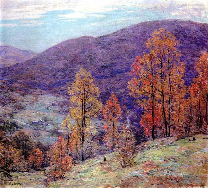 Willard Metcalf, Autumn Glory