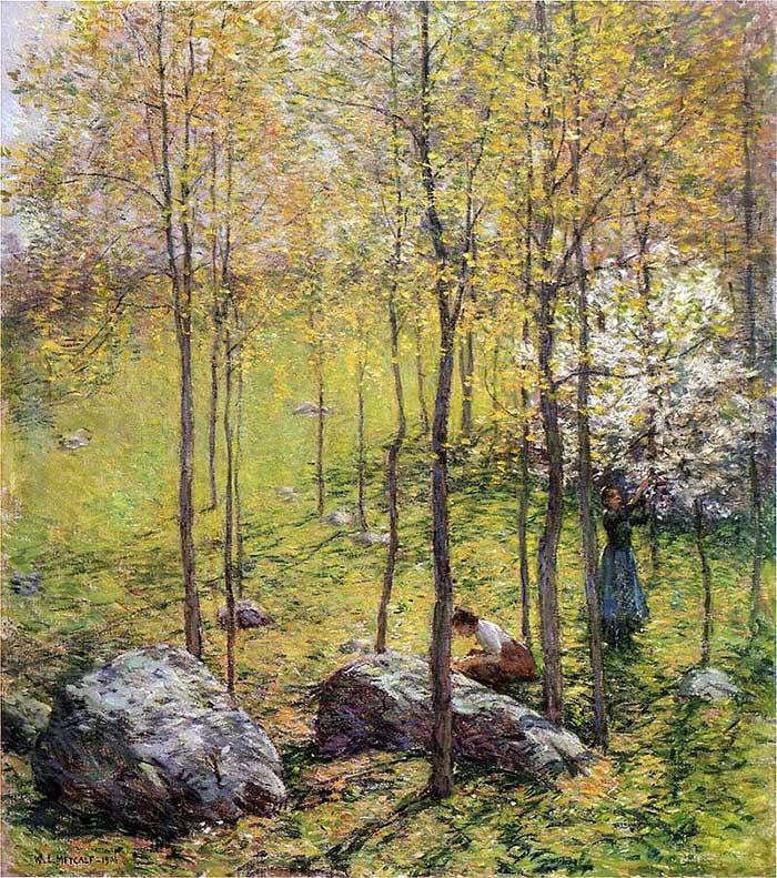 Willard Metcalf, Dogwood Blossoms