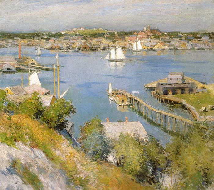 Willard Metcalf, Gloucester Harbour, 1895