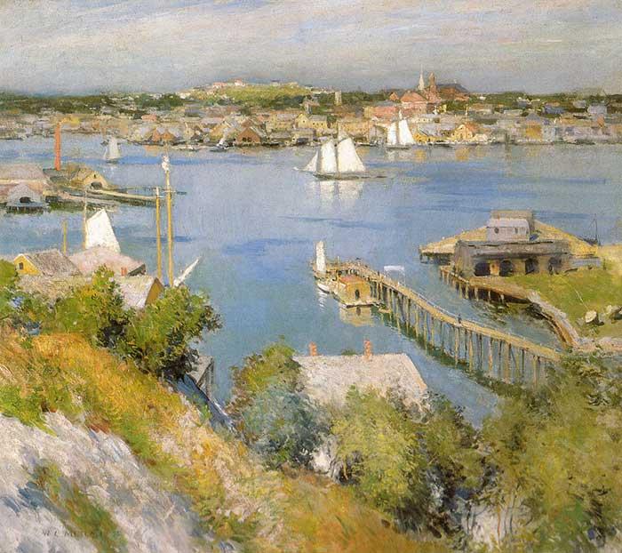 Willard Metcalf, Gloucester Harbour, 1895