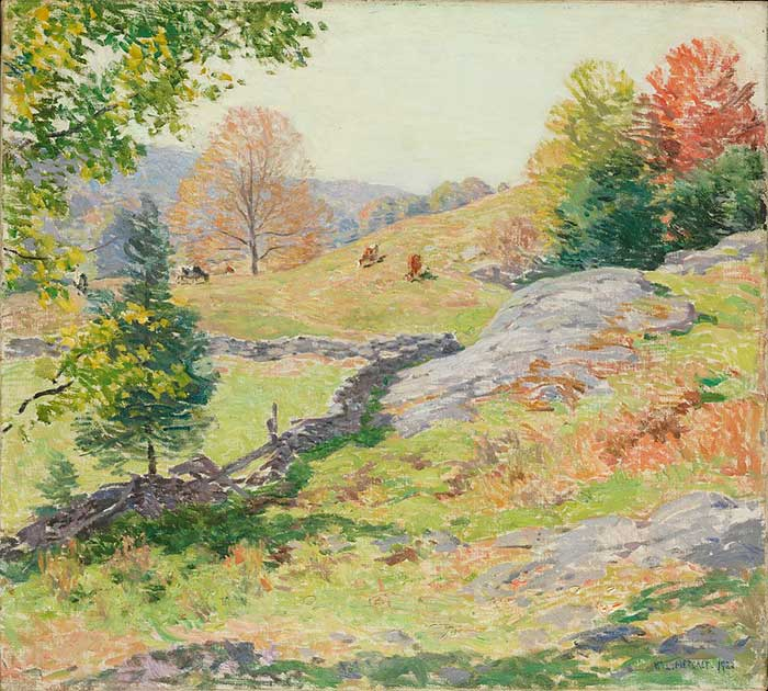 Willard Metcalf, Hillside Pastures