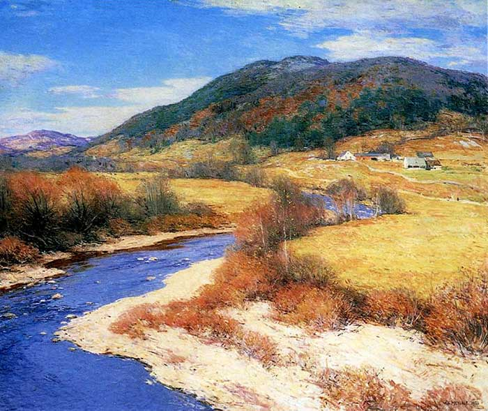 Willard Metcalf, Indian Summer, Vermont, 1922